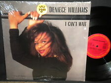"""Deniece Williams """"I Can't Wait"""" 7 and 12"""" Mixes in Stereo in Shrink"""