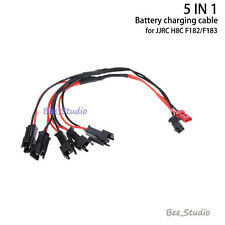 5-in-1 Battery Charging JJRC H8C F183 H8DCable Charger for  RC Quadcopter Drone