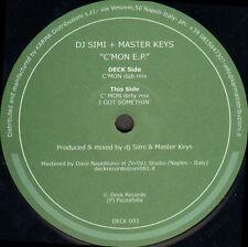 DJ SIMI & MASTER KEYS - C'Mon EP