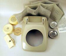 2x Telefon mit Wählscheibe BP FeTAb 611 611-2 Post 1980 vintage phone telephone