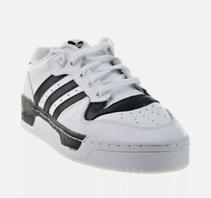 Adidas Rivalry Low Men's Shoes NIB White-Black EG8062