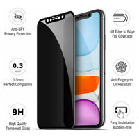 3 PACK Privacy Tempered Glass Anti-Spy Screen Protector For iPhone 12 Pro Max 12