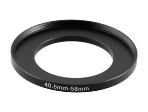 40.5-58mm Metal Step Up Ring Lens Adapter from 40.5 to 58 Filter Thread UK STOCK