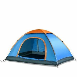 Polyester Picnic Hiking Camping Portable Dome Tent with bag Free Shipping