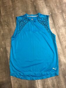 Puma Mens Sleeveless Workout Top Size (Medium)