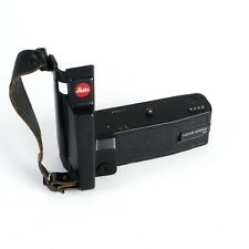 ^Leitz Leica Motor Winder R3 w/ Grip [NO BATTERY INSERT AS-IS]
