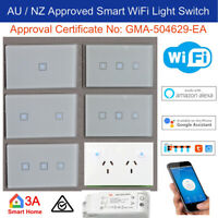 WiFi Smart Light Switch, Dimmer, GPO for Normal Switch Home Automation Voice Con