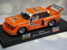 1:32 SLOT CAR REVELL BMWW 320 DRM 1977 GROUP 5 HANS STUCK JAGERMEISTER #15