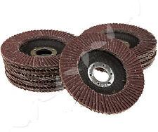 10x22.2mm 40 Grit 115mm Flap Discs Wheel Angle Grinder Grinding Metal Sanding