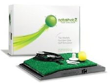 Optishot 2  Virtual Golf Simulator **SALE PRICE** 3 FREE PREMIUM COURSES**