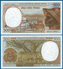 CENTRAL AFRICAN STATES / E.GUINEA 500 Francs UNC P.501N