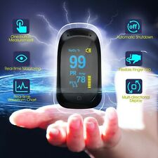 Pulse Oximeter Blood Oxygen Monitor Heart Rate PI Indicator Sleep Monitoring