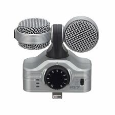 Zoom MS Stereo Microphone iQ7 for iPhone/iPad/iPod touch from Japan New