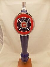 """Never Used CHICAGO FIRE MLS Soccer beer tap handle 12"""""""