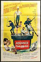 ADVANCE TO THE REAR Glenn Ford Original 1964 1 ONE SHEET MOVIE POSTER 27 x 41 1