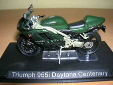 Ixo Altaya Triumph 955i Daytona Centenary dunkelgrün Motorrad 1:24 Motorbike