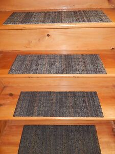 13 = Step Indoor Stair Treads Staircase Step Rug Carpet  8'' x 24''.