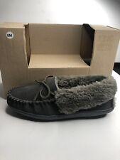 Clarks Women's Slipper Sz 8 Leather Upper Gray