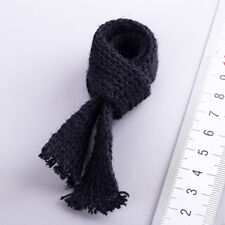 """1/6 Scale Scarf Black For 12"""" Hot Toys Figure Body"""