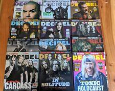 Decibel Magazine ( Lot Of 12 Issues- 2013)