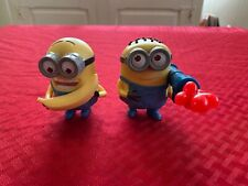 2 MCDONALD'S HAPPY MEAL MINIONS TOYS! LOW SHIPPING!