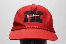 TIC NORTHWEST - RED - ONE SIZE ADJUSTABLE STRAPBACK BALL CAP HAT
