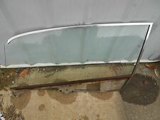 1966 1967 FORD FAIRLANE 2DR HARDTOP LH FRONT DOOR GLASS NON TINTED NICE USED