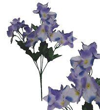 Lot of 24 Purple Hydrangea Picks 120 Stems Wedding Home Decor Craft Silk Flower