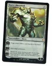 2x MTG Karn Liberated Foil New Phyrexia MINT UNPLAYED X2