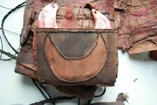 Old Mendi Kina Shell with natural Bark Wallet (rare)