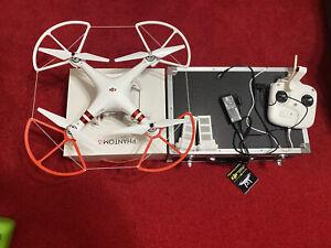 DJI Phantom 3 Standard - White Quadcopter Camera Drone - Excellent! -