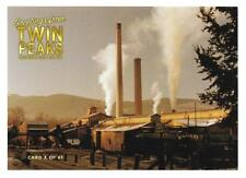 TWIN PEAKS GOLD BOX POSTCARD #3 PACKARD SAWMILL POST CARD