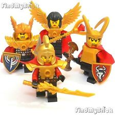 C464 Lego Sanctuary Battle Warriors Greek God Roman Spartan Custom Minifigs NEW