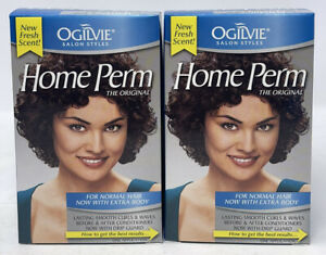 Ogilvie The Original Home Perm, For Normal Hair Now With Extra Body [LOT OF 2]