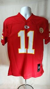 KC Chiefs Alex Smith Football Jersey Youth size 14/16 Large