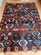Beautiful Antique Hand Made caucasian Shirvan Kilim rug Size 213x150cm