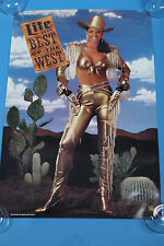 "Miller Lite beer poster Best of The West poster 30""x20"""