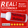 Nutrifolica Regrowth Shampoo Growth Hair Loss & no Minoxidil bad side effects