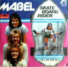 "7"" 1978 German press RARE MINT -! Mabel Skateboard Rider"