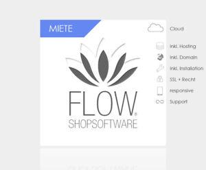 Ihr Mietshop - kinderleichter Designer Onlineshop Shopsystem - FLOW-Shopsoftware