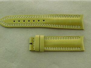 Neu  Jaeger Le Coultre Original Leder Band Armband grün 18 - 16 Neu & ungetragen