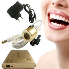 Portable LED Head Light Lamp For Dental Surgical Binocular Loupes Dentaire >5H