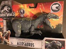Allosaurus (Roarivores) Jurassic World Chomping + Sound 2018 Mattel Dinosaur