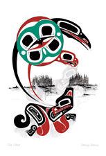 The Chase Danny Dennis Art Card Tsimshian Northwest Coast Native