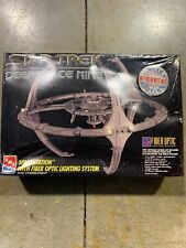 AMT Ertl Star Trek Deep Space Nine Space Station w/ Fiber Optic Lights Model DS9