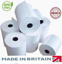 100 80mm X 60mm 80x60mm papel térmico libre de BPA EPOS hasta rollos de recepción de la impresora