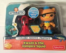 NEW Fisher Price Octonauts Kwazii & the Vampire Squid ~ MIB!