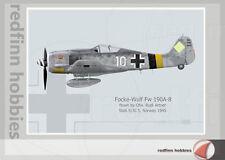 Warhead Illustrated Focke Wulf Fw 190A-8 Artner Aircraft Print