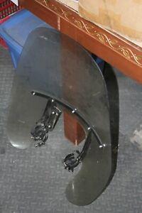 windshield + mount clamps 1993 FXLR Harley FXR FXRT Dyna Sportster XL EPS24064