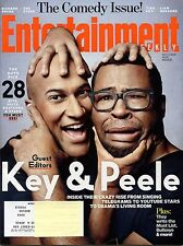 Entertainment Weekly Magazine #1331 Oct 3rd 2014 Key & Peele comedy issue cover